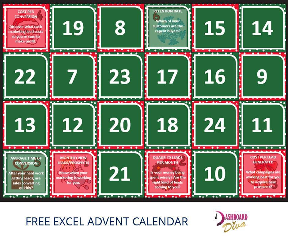 Excel Advent Calendar