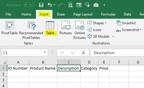 How to create a data entry form in Excel - Expedio Spreadsheets